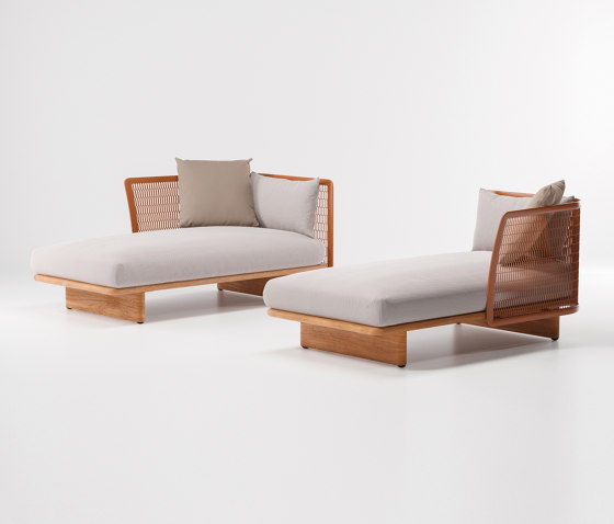 Mesh chaiselongue by KETTAL | Sun loungers