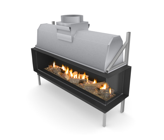 Sinatra FR by Planika | Closed fireplaces