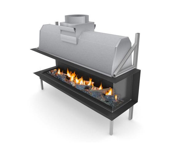 Sinatra LFR by Planika | Open fireplaces