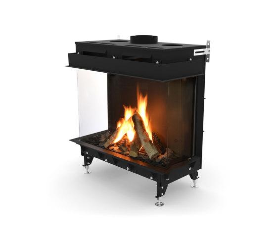 Monroe LFR by Planika | Closed fireplaces