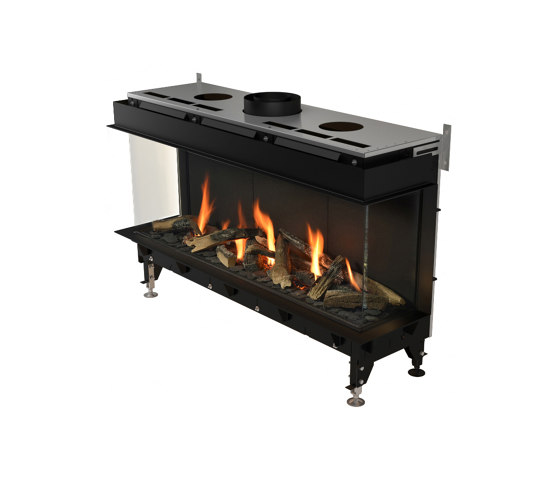 Valentino LFR 1000/1300 by Planika   Closed fireplaces