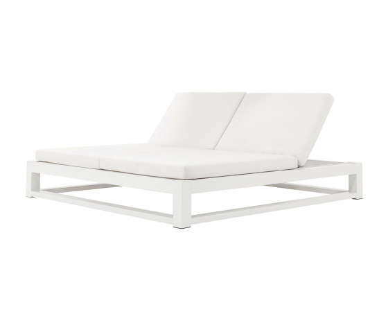 Equinox Double Chaise Lounge by TUUCI | Sun loungers