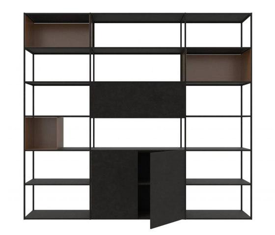 Easy Irony Bookcase by ZEUS   Shelving
