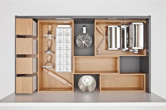 next125 Flex-Box of real wood by next125   Kitchen organization