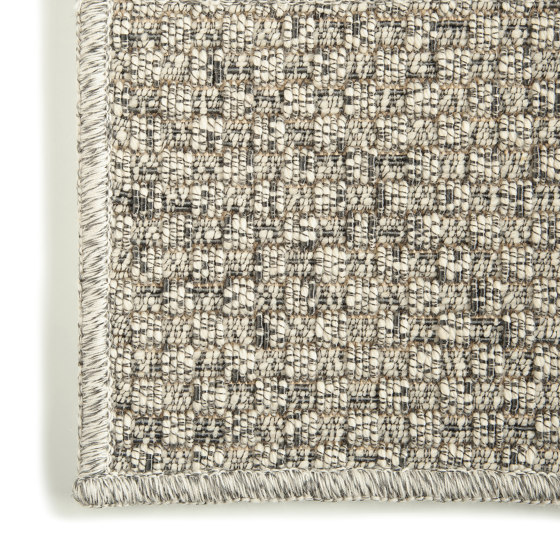 Textures Tweed Argento by G.T.DESIGN | Rugs