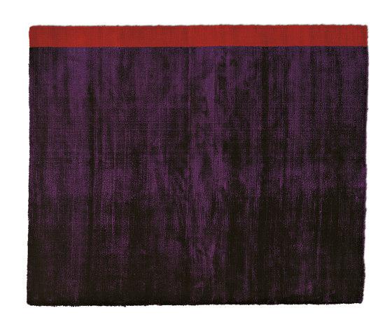 Campi di Gravità Viola Astratto 1 by G.T.DESIGN | Rugs