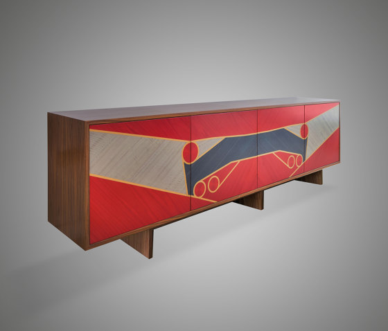 Aston Side Cabinet de Ivar London | Aparadores