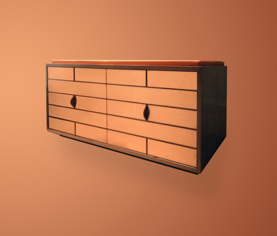 Craig Shoes Cabinet With Soft Seat by Ivar London | Sideboards