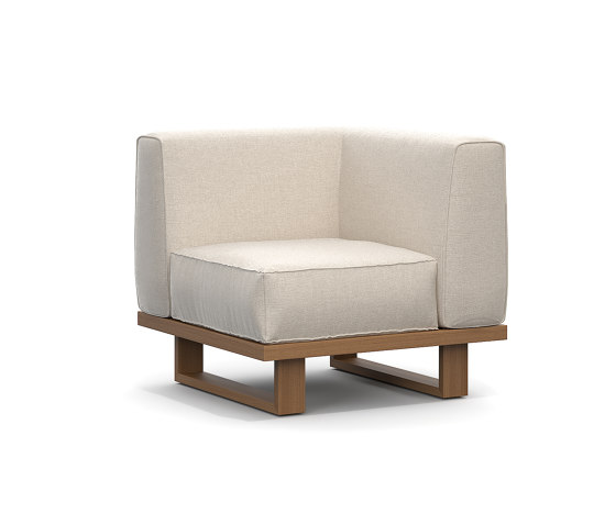 9.Zero Sofá modular esquina 1 asiento de Atmosphera | Sillones