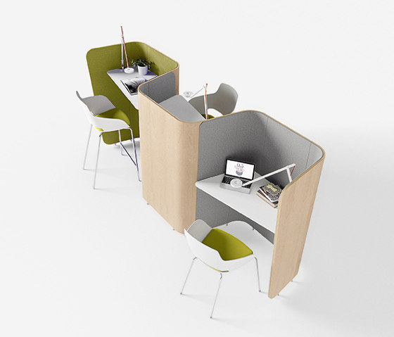 We Meet by Sinetica Industries | Sound absorbing architectural systems