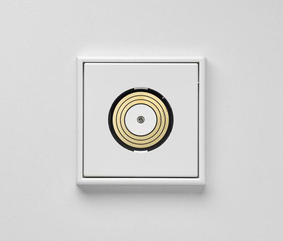 Plug & Light |  LS 990 Ligtht socket white by JUNG | Sockets