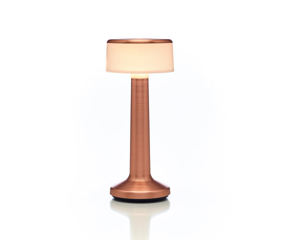 Moments   Cylinder Opal   Copper by Imagilights   Table lights