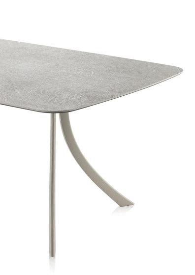 Falcata Outdoor rectangular dining table di Expormim | Tavoli pranzo