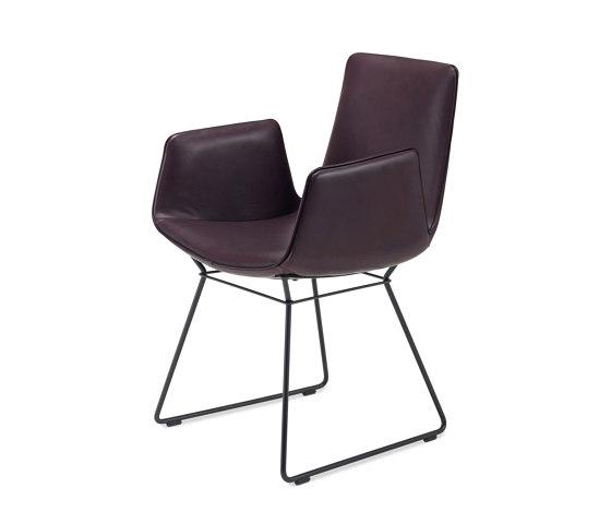 Amelie   Armchair High mit Drahtgestell von FREIFRAU MANUFAKTUR   Stühle
