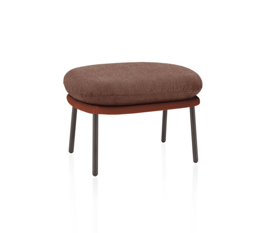 Twins footstool by Expormim   Poufs