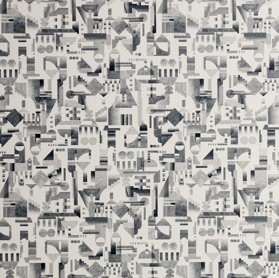 Utopia Ascending   Cream wallpaper by Petite Friture   Wall coverings / wallpapers