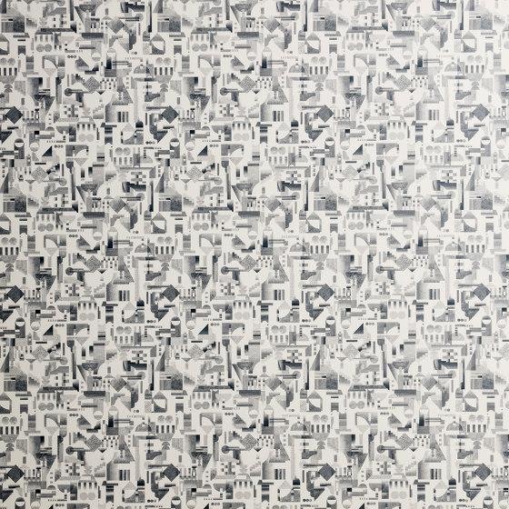 Utopia Ascending | Cream wallpaper di Petite Friture | Carta parati / tappezzeria