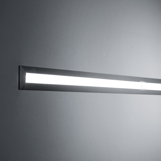 Continuous Rod Minimal Recessed 1m by Simes | Outdoor recessed wall lights