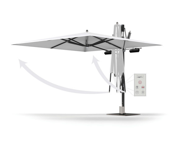 Ocean Master MAX Cantilever - Light, Heating & Automation by TUUCI   Parasols