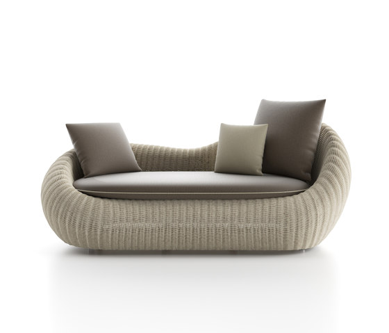 Twiga Sofa 2 seats by Atmosphera | Sofas