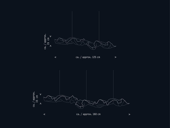 eNormaJeane by Lichtlauf | Suspended lights