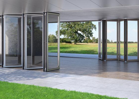 Bi-Folding Doors | Combiline by Solarlux | Window types