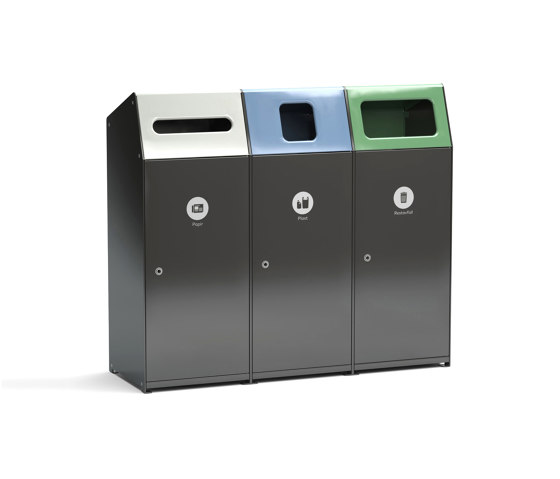 Acceptor 160 recycle by Vestre | Waste baskets