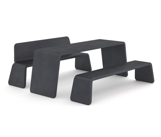 Kyoto table & bench by Vestre | Tables and benches