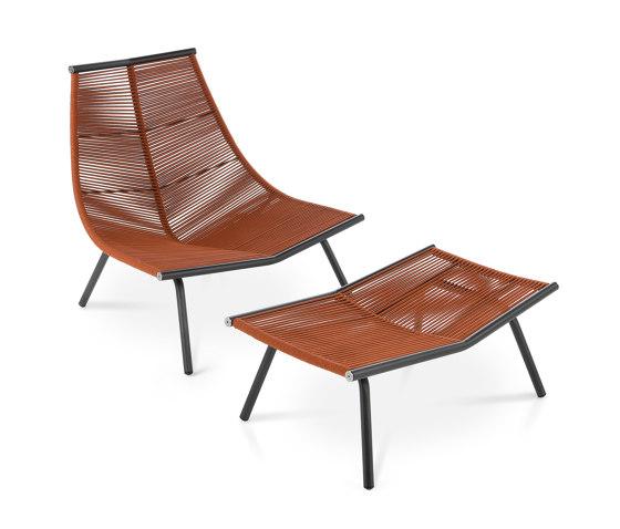 LAZE 002 | 004 High Backrest Lounge Chair & Stool von Roda | Sessel