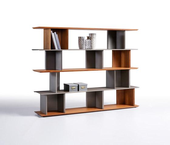 Libera 45 Modular Bookcase by Ronda design | Shelving