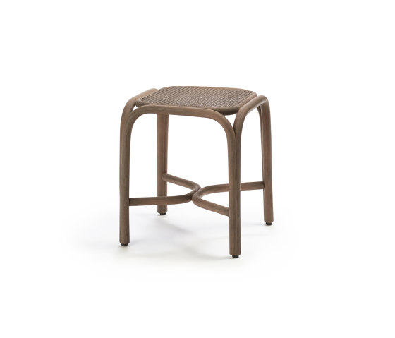Fontal low barstool by Expormim | Stools