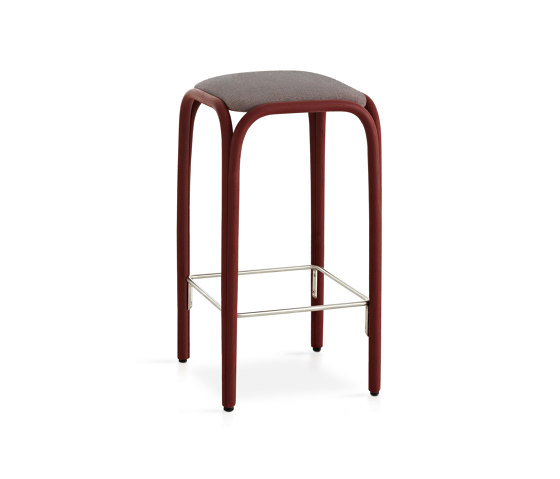 Fontal Upholstered high barstool by Expormim | Bar stools