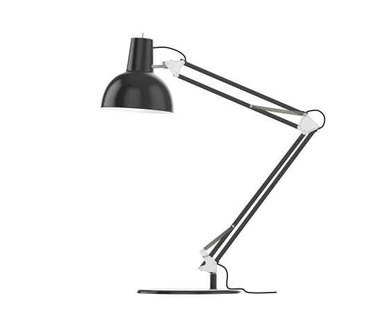 Spring Balanced Lamp⎜table | black by Midgard Licht | Table lights