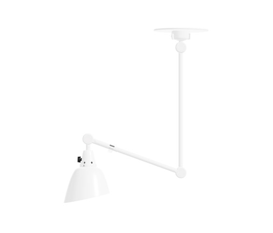 midgard modular | TYP 554 | ceiling | double arm | 100 x 40 by Midgard Licht | Suspended lights
