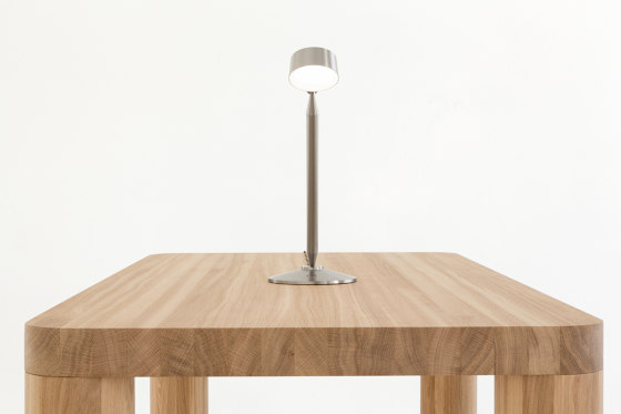 Buster - Nickel by Resident | Table lights