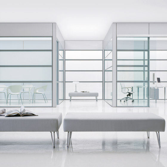 Areaplan Spazio-Modulo by FREZZA | Wall partition systems