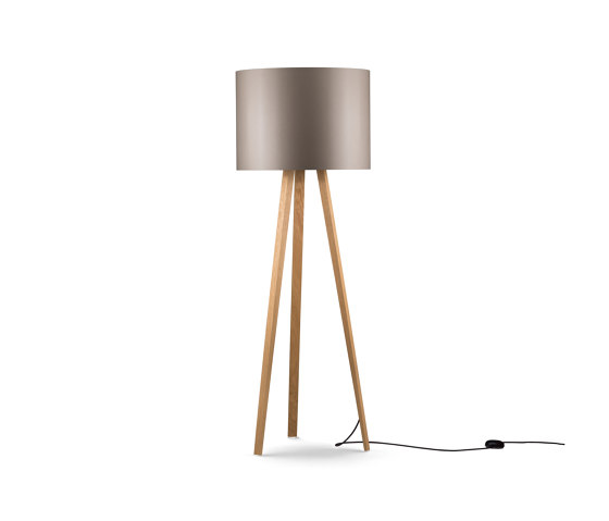 Luca Stand by maigrau | Free-standing lights