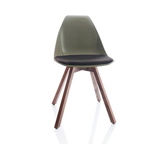 X Wood Soft Stuhl von ALMA Design | Stühle
