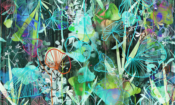 Macrotropic by WallPepper | Wall coverings / wallpapers