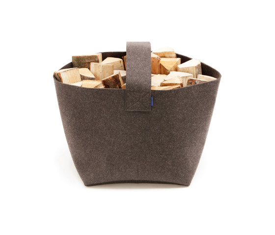 Firewood basket big by HEY-SIGN | Storage boxes