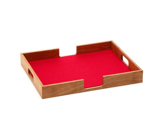 Tray rectangular de HEY-SIGN | Bandejas