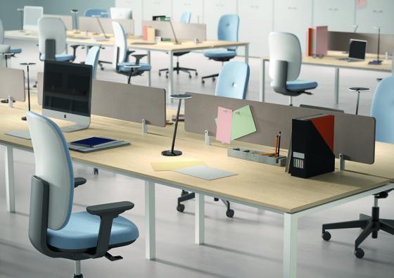 L System Operative Desking by Guialmi | Desks