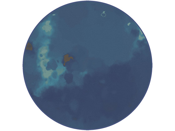 Mystify Tints | MT3.04.2 | Ø 350 cm by YO2 | Rugs