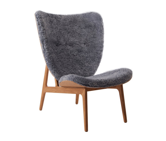Elephant Chair, Natural / Sheepskin: Graphite by NORR11 | Armchairs