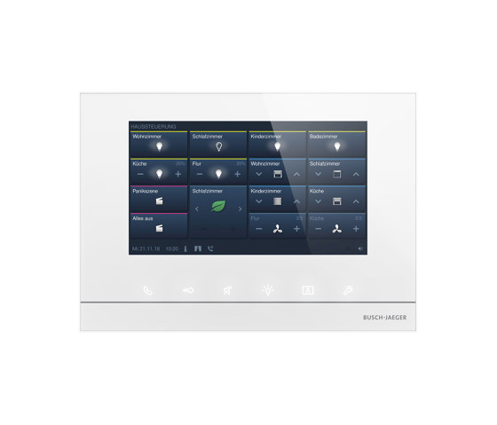 """ABB-free@homeTouch 7"""" by Busch-Jaeger   Building controls"""