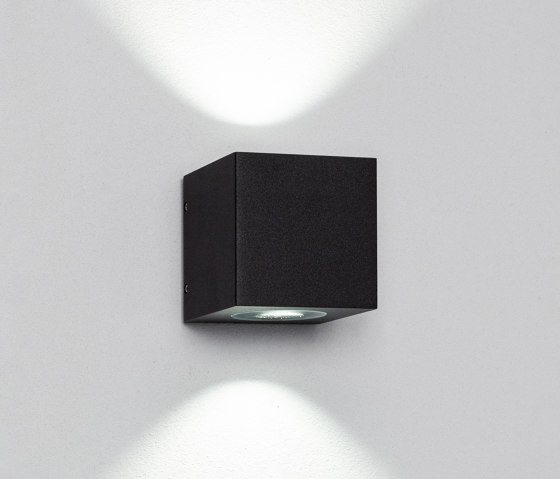 Cube XL duo black by Dexter | Outdoor wall lights