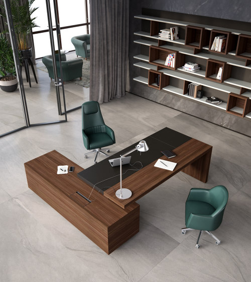 Ducale | Executive Desk de Estel Group | Bureaux
