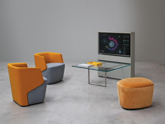 Embrasse Hall | Pouf von Estel Group | Poufs / Polsterhocker
