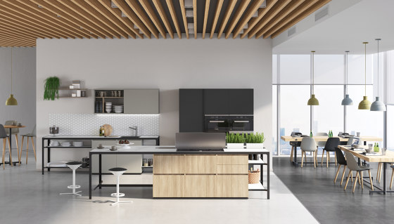 Buffet | Banco A Parete by Estel Group | Island kitchens