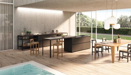 Isola Compact Outdoor de Estel Group | Cocinas de jardín